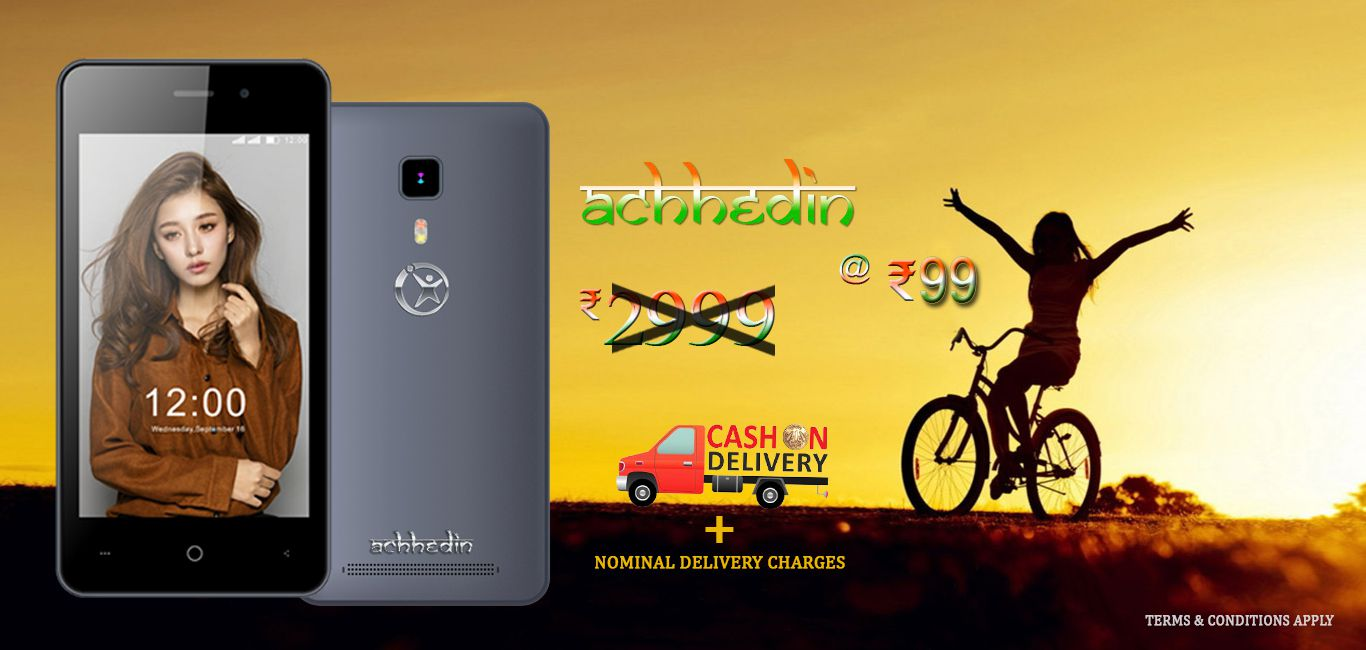 Namotel 99 Rupees Achee Din Smartphone