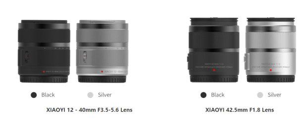 Xiaoyi M1 lens