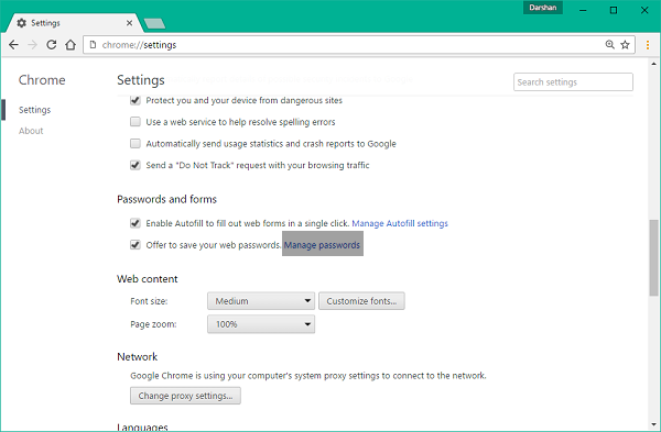 Chrome-Settings-Menu