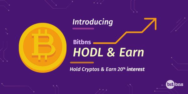bitbbns_hodl_earn